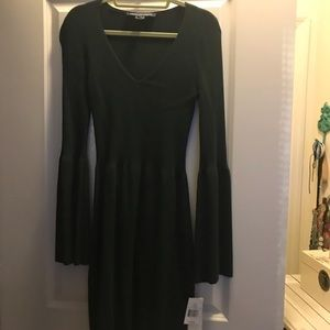 Forest green French Connection dress